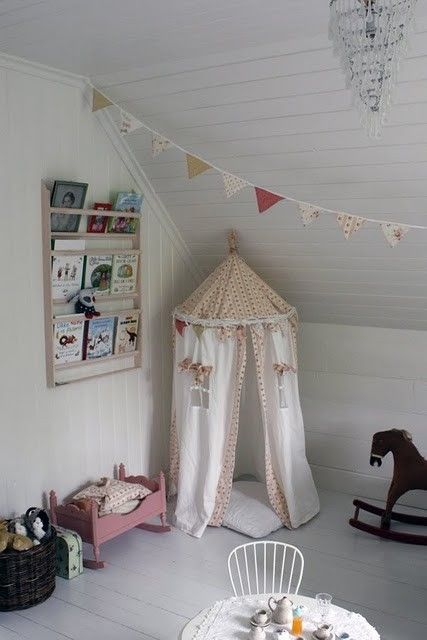 Good combination of Cape Cod-type roof and reading nook