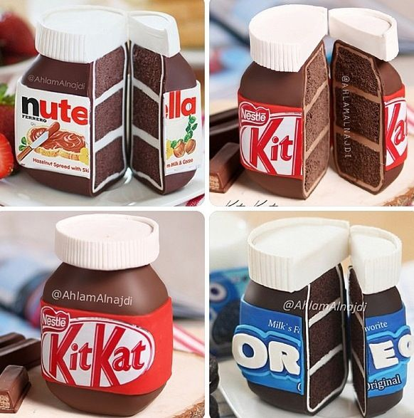 Cool cakes! Wait! Way better than cool! AMAZING! NUTELLA!! <3 <3