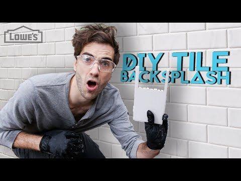 Diy How To Install Floating Shelves On A Subway Tile Backsplash