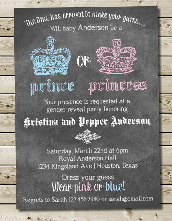 Custom Printable Prince or Princess Royal by PurplelephantDesigns, $12.00