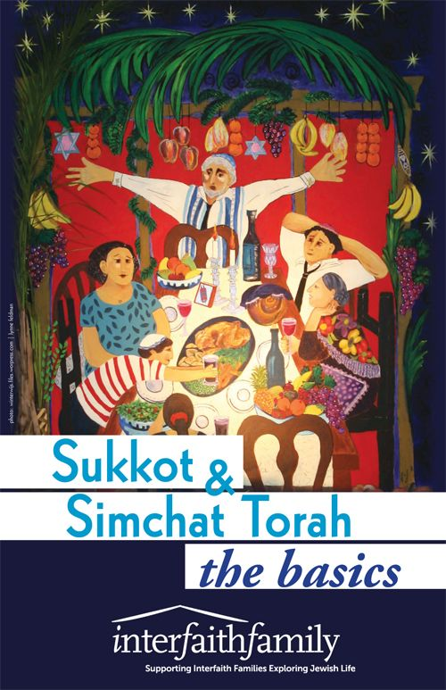 Sukkot and Simchat Torah: the Basics