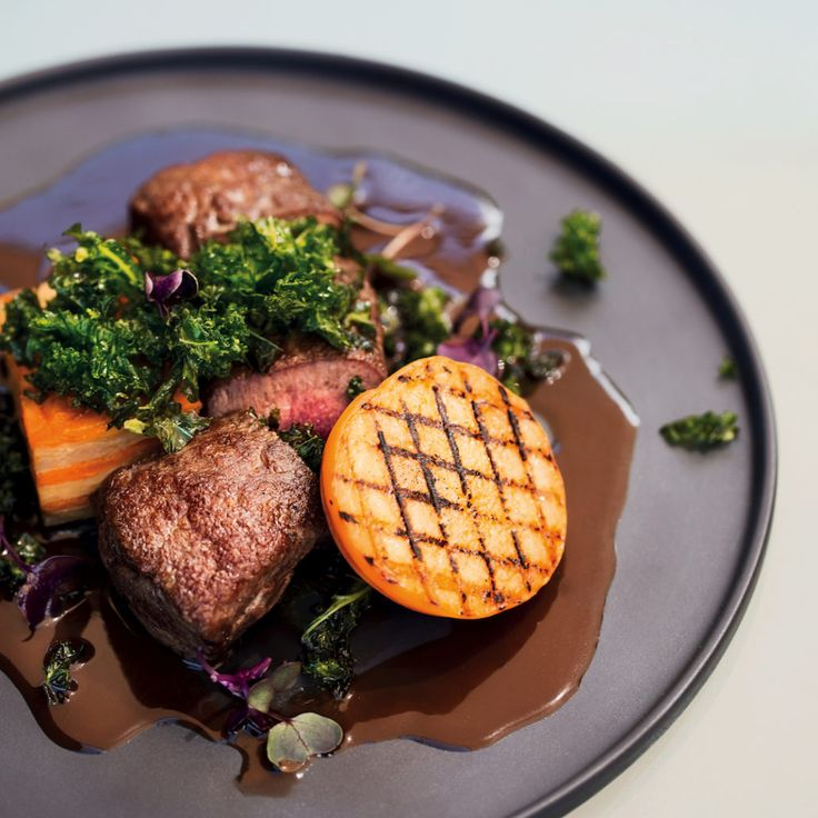Chef Westley Muller's grilled venison with dark chocolate sauce - MyKitchen