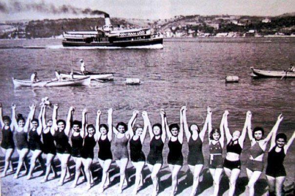 1940 larda küçüksu plajı