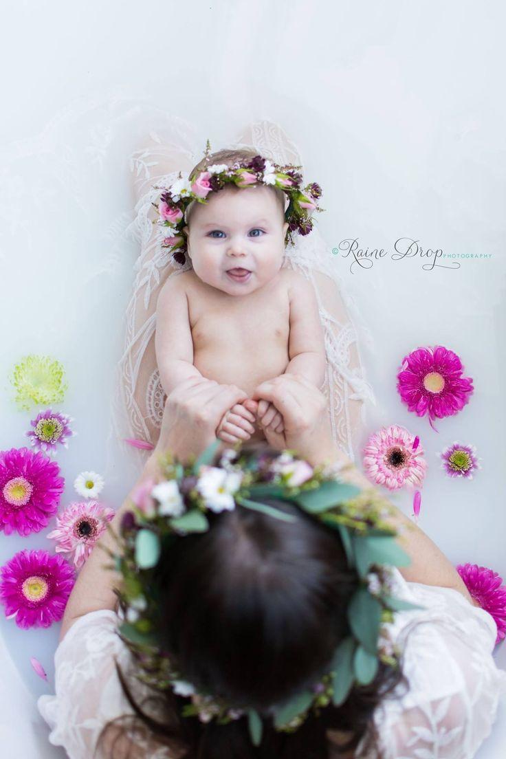 Mother Daughter Milk Bath Session
