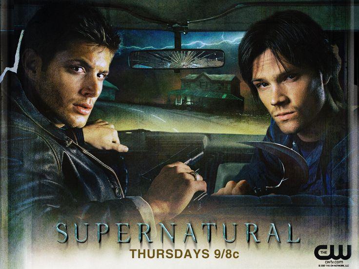 Supernatural...Sam, Dean and Cas. save the world