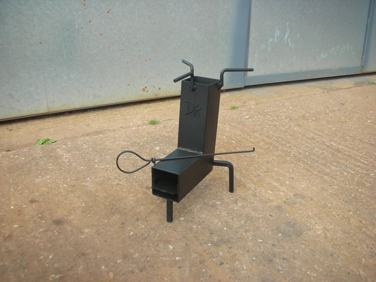 279 best images about rocket stoves on pinterest wood for Portable rocket stove plans