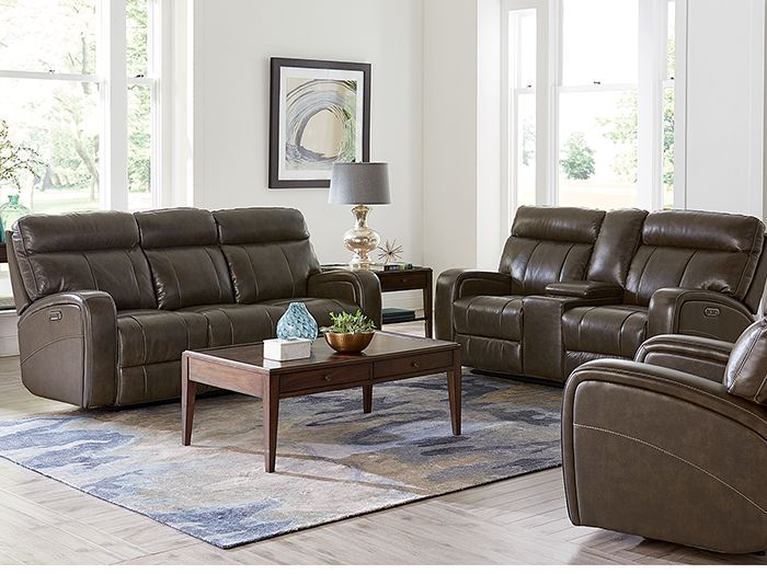 Vista Power Recline Sofa The Vista Collection Has All The High End Amenities You Are Looking For Supple Top Grain Leat Living Room Sets Room Set Living Room