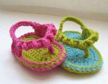 awesome El Örgüsü Bebek Sandalet Modelleri