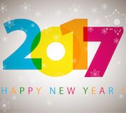 2017 new year template with numbers transforming illustration Free vector in Adobe Illustrator ai ( .ai ) format, Encapsulated PostScript eps ( .eps ) format format for free download 3.39MB