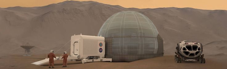 Dec. 29, 2016 A New Home on Mars: NASA Langley's Icy Concept for Living on the Red Planet