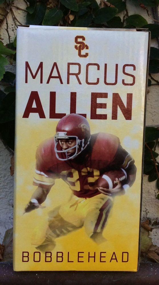 Marcus Allen Limited Ed. SGA Bobblehead ~USC Trojans Heisman Trophy Hall Of Fame #USCTrojans