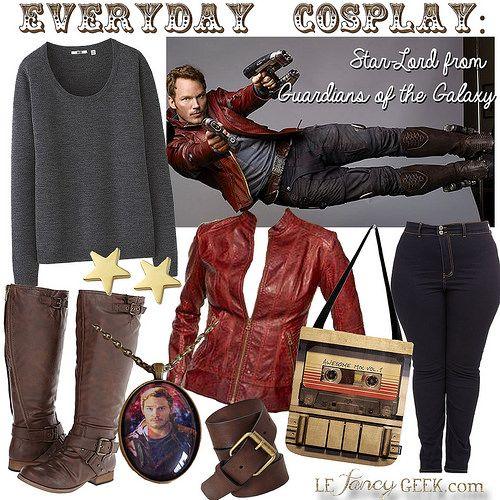 Everyday Cosplay: Star Lord | Le Fancy Geek