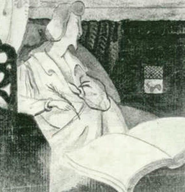 Aloysius Bertrand selfportrait