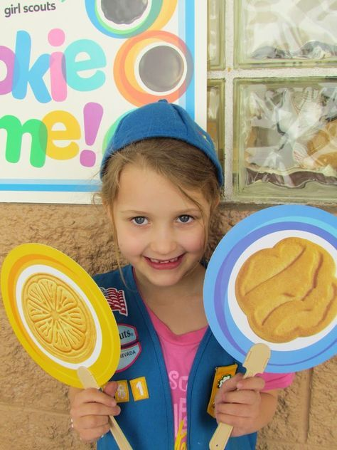 Girl Scout Cookie Time - Ribbons & Glue
