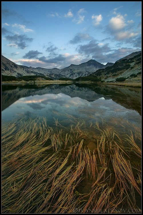 The Natural Beauties of Bulgaria via Photos of Ivan Miladinov - Lake Muratovo, Pirin Mountain