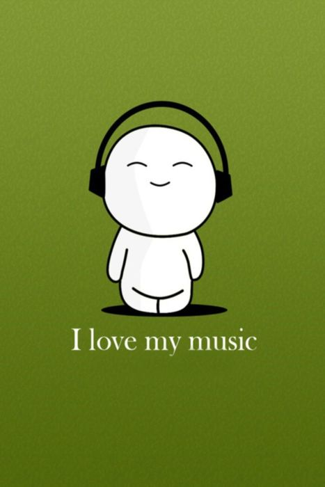Love me some music. YOU DONT EVEN KNOW > I even cry because >>music