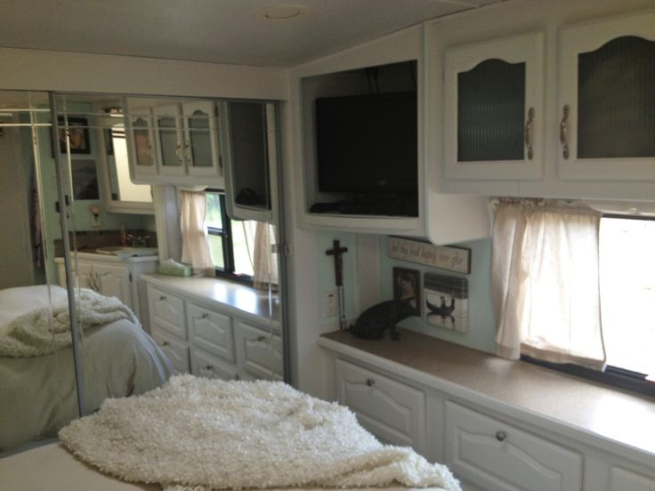 Renovating Our 5th Wheel Camper: A DIY | Follow The High Line Home ** · Rv  ...