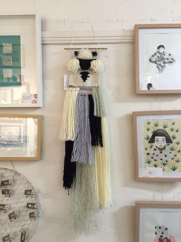 Original weaving by Ellie Meyer.