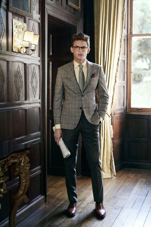 Mismatched- http://www.spherelife.com/?edition=23 #suit #fashion #manor