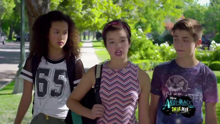 Andi Mack - Season 2 Episode 7 -  Head Over Heels -  EXCLUSIVE CLIP - YouTube