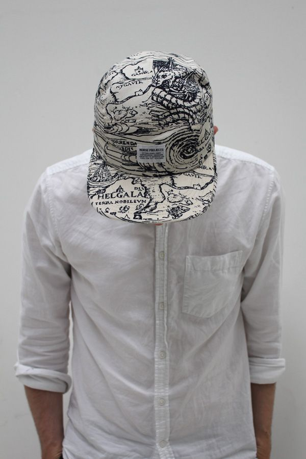 NORSE PROJECTS, PRINTED 5 PANEL CAP: sold out. :/