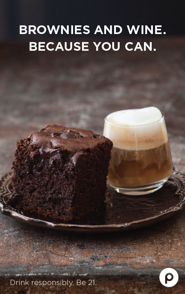 Be good to yourself. Doubly indulge by pairing the right wine with the right brownie. Extra nutty? More marshmallows? Publix has a fine selection to help sweeten the deal.