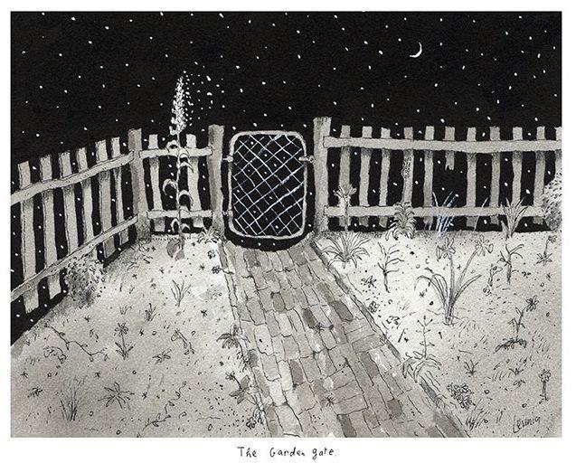 The Garden Gate - Michael Leunig - Artists
