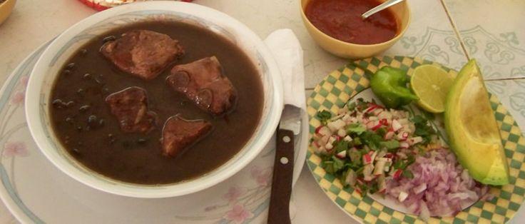 Mexico: Yucatan Frijol con Puerco, Comida Yucateca