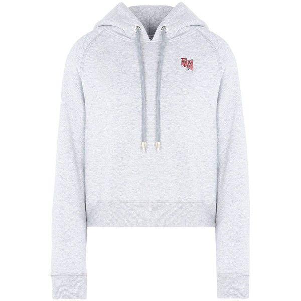 Gigi Hadid X Tommy Hilfiger Sweatshirt (305 BRL) ❤ liked on Polyvore featuring tops, hoodies, sweatshirts, light grey, sequin embellished top, long sleeve sequin top, sequined sweatshirts, long sleeve tops and tommy hilfiger