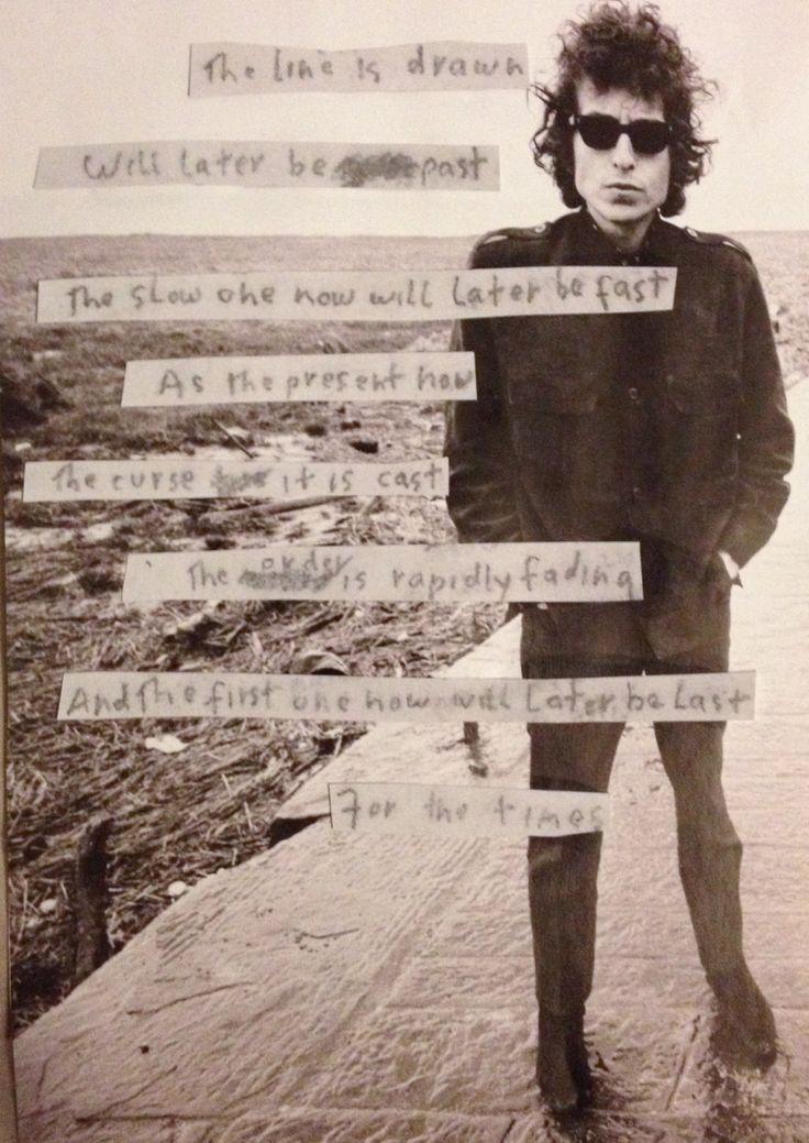 Lyrics containing the term: bob dylan