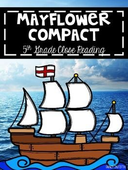 This product includes 14 pages of resources to teach the Mayflower Compact. Included is:-Original Mayflower Compact-Abridged Mayflower Compact-Three Original Mayflower Compact Close Reads-Three Abridged Mayflower Compact Close Reads-Three Full Page Close Read Question Pages-Three Quarter Page Close Read Question Pages If you have any questions, please contact me before purchasing.