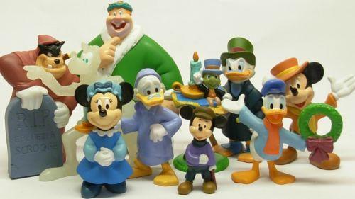 Komplett A Christmas Carol Weihnachtsgeschichte Disney Dickens Applause Scrooge | eBay