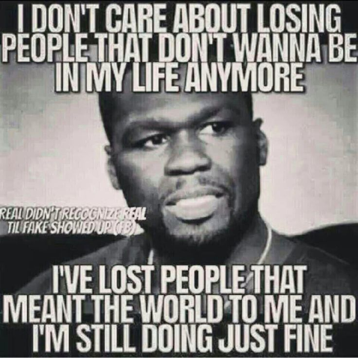 Losing people that aren't meant to be in your life is a great feeling.