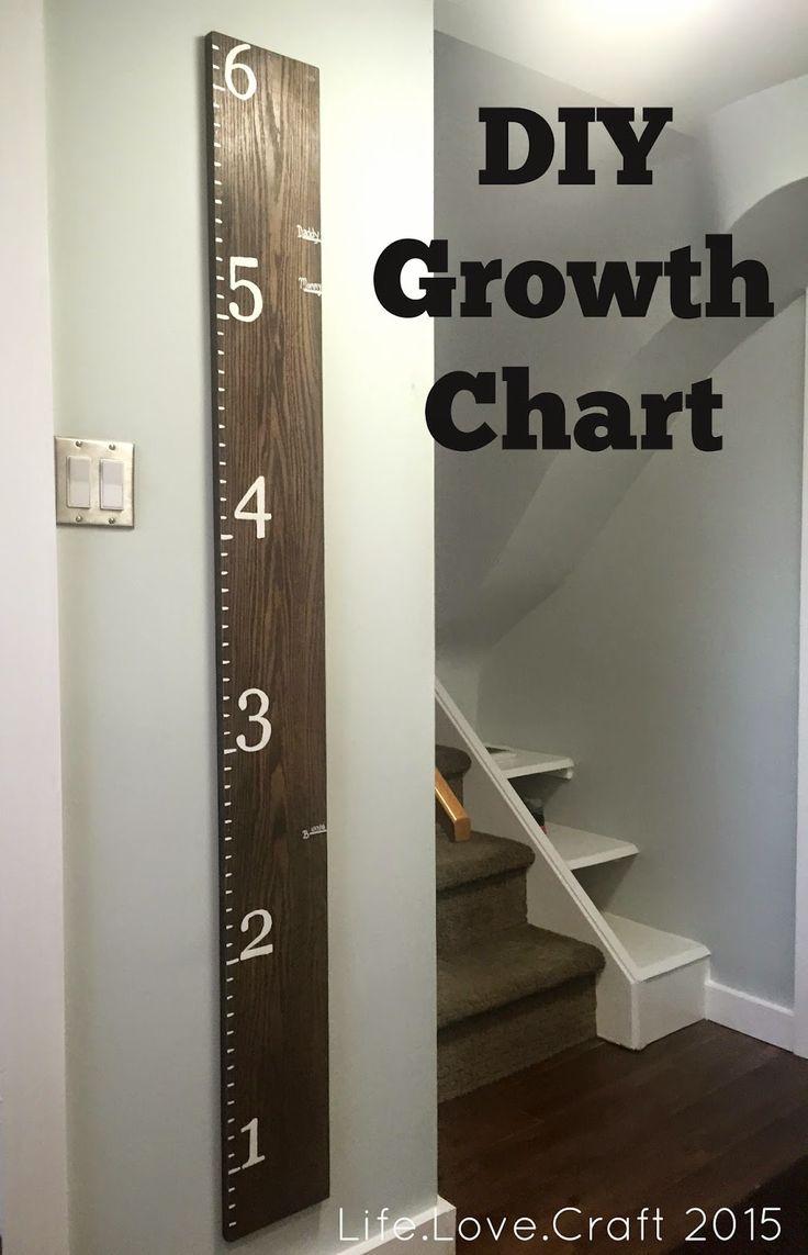 Life.Love.Craft: DIY Growth Chart