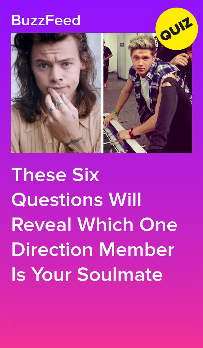 Which One Direction Member Is Your One True Love In 2020 One