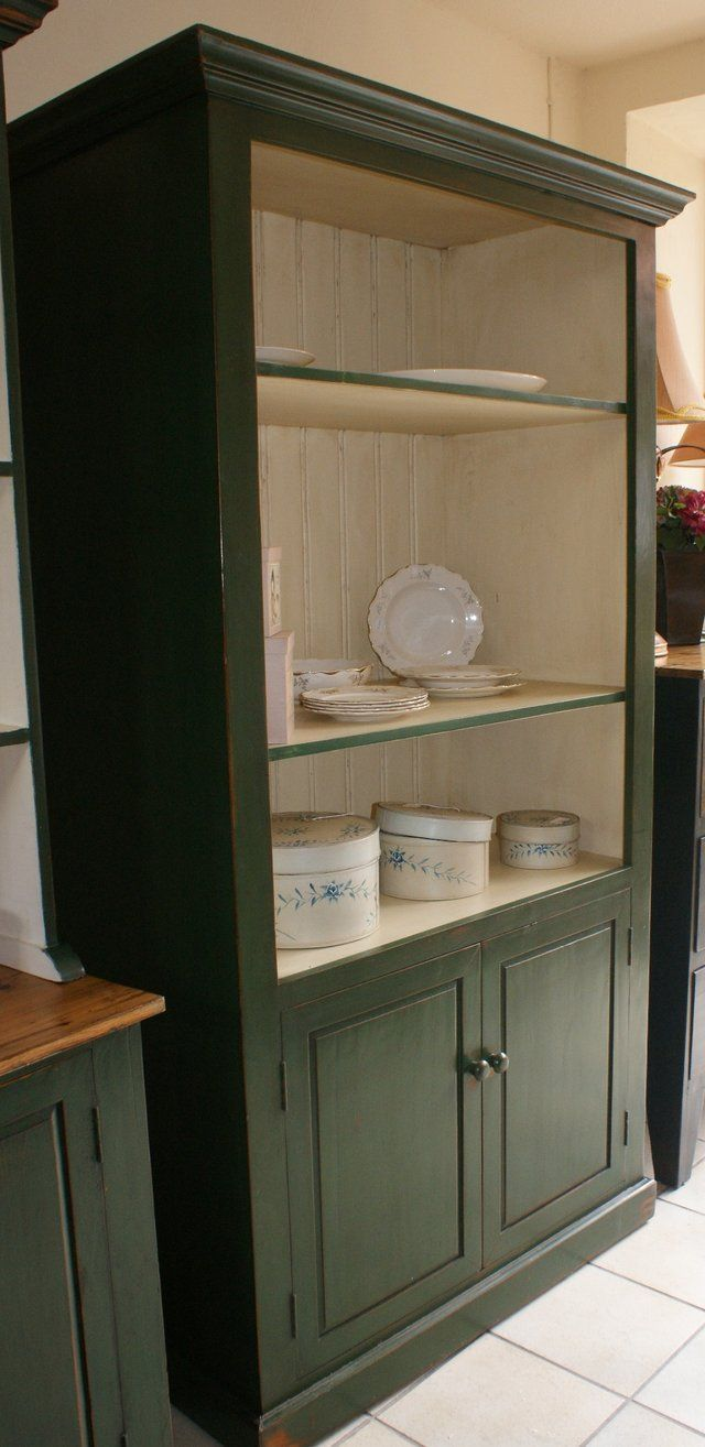 Unique Open Shelf Storage Cabinet