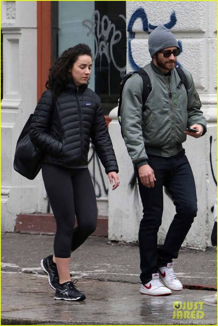 Jake Gyllenhaal Hangs Out with Longtime Pal Greta Caruso: Photo #3536591. Jake Gyllenhaal takes a stroll while bundled up to brave the rainy weather on Tuesday afternoon (December 22) in New York City.    The 35-year-old actor was joined…