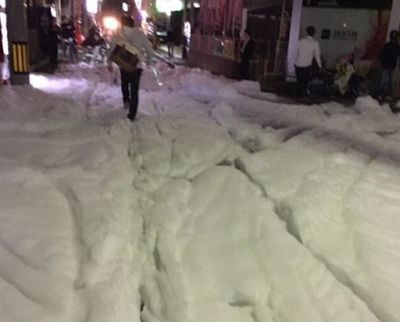 Heboh, Jalanan di Jepang Dipenuhi Busa Misterius Setelah Gempa Hebat | Berita Terupdate