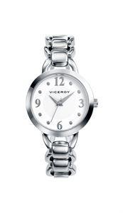 Reloj Viceroy, toda una joya para lucir en tu muñeca, tanto por su pequeña caja y los detalles originales de sus acabados de primera calidad en su correa de acero inoxidable. www.relojes-especiales.net #mujer #acero #juvenil