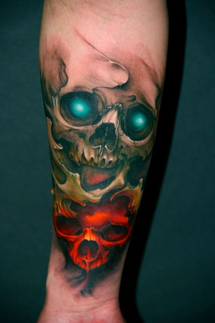 Abstract skull tattoo tattoos pinterest meaning for Skull tattoos meaning
