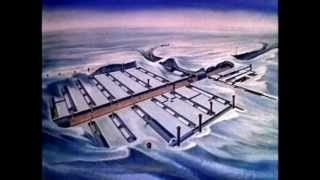 """US Army's Top Secret Arctic City Under the Ice. This video is an actual declassified US Army film, documenting the nuclear-powered construction process of Camp Century, beneath the ice of central Greenland. The base was constructed in the late 1950s, during the height of the Cold War, to place missiles under the ice to strike targets within the Soviet Union. This was kept secret from Greenland which was legally a """"nuclear free zone""""."""
