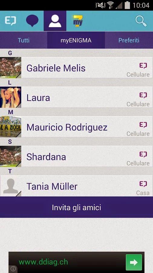 computers 5puntozero: MyENIGMA app per inviare messaggi senza essere int...