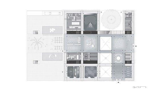 OMA, Aires Mateus e Staab Architekten divulgam as propostas que receberam menção honrosa para o concurso do novo edifício da Neue Galerie,Cortesia de REX