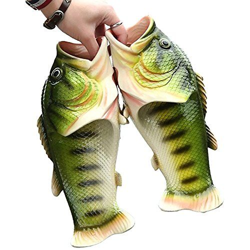 Best Womens Slippers | Fish Animal Slippers Summer Beach Sandals Shower Slippers Nonslip Funny Beach Shoes Wear for Women Men * Find out more about the great product at the image link. Note:It is Affiliate Link to Amazon.