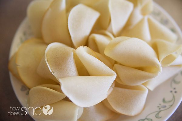 Make Your Own Fortune Cookies | How Does She...@Glenise De Oliveira