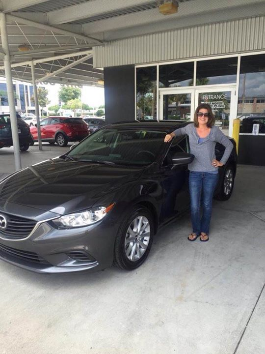 Congratulations Dawn R on your new Mazda We hope you