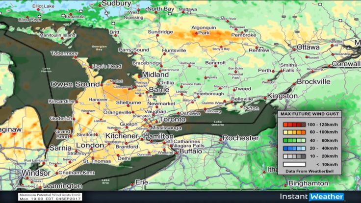Widespread Severe & Non-Severe Thunderstorms Today #onstorm
