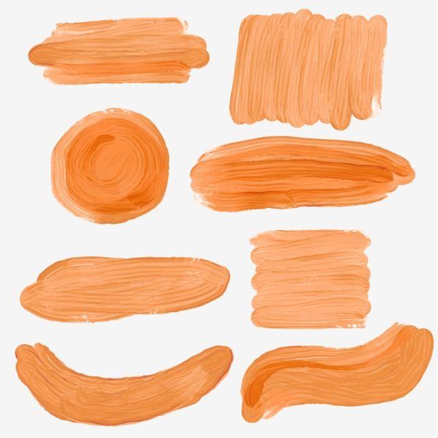 Brush Stroke Brown Painting Background Brush Stroke Shape Png