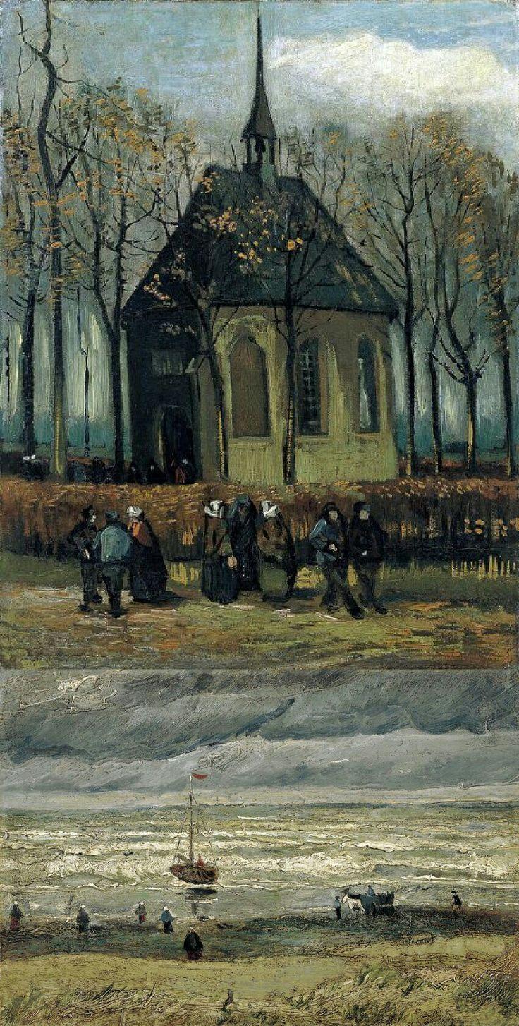 2 van Gogh -Bilder, von der Mafia gestohlen, wiederaufgefunden 😃