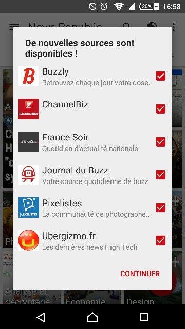 Mobile app follow newsrepublic